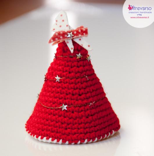 Albero Natale uncinetto pattern free Airali