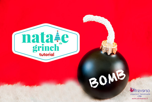 tutorial bomba natale grinch christmas bomb