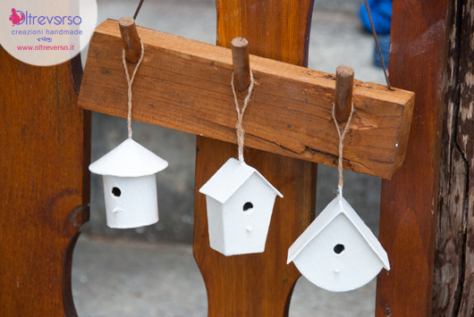birdhouses casette degli uccelli in miniatura da decorare