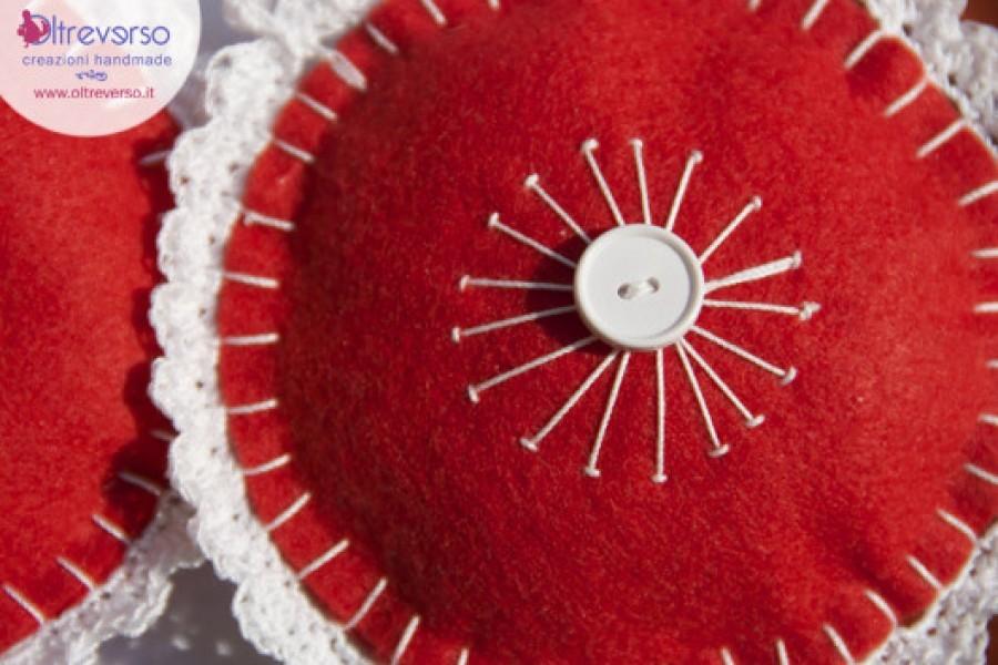 Decorazioni di Natale handmade con feltro e pannolenci + tutorial