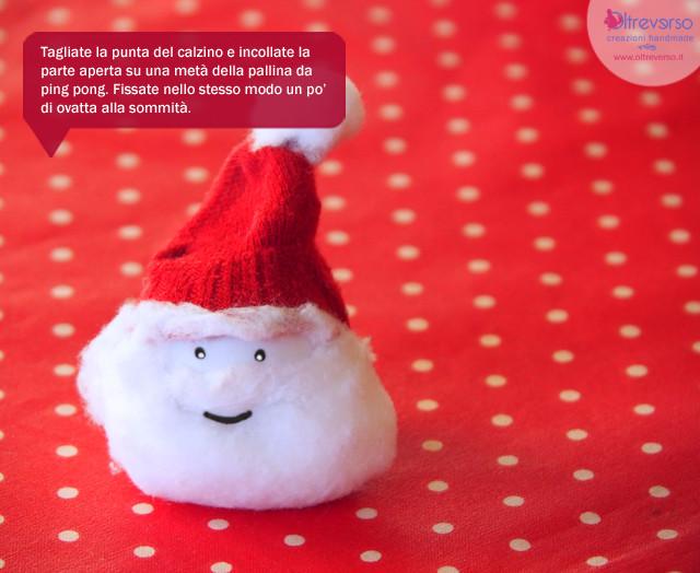 Decorazioni natalizie riciclando flaconi bottiglie - Babbo natale porta i regali ai bambini ...