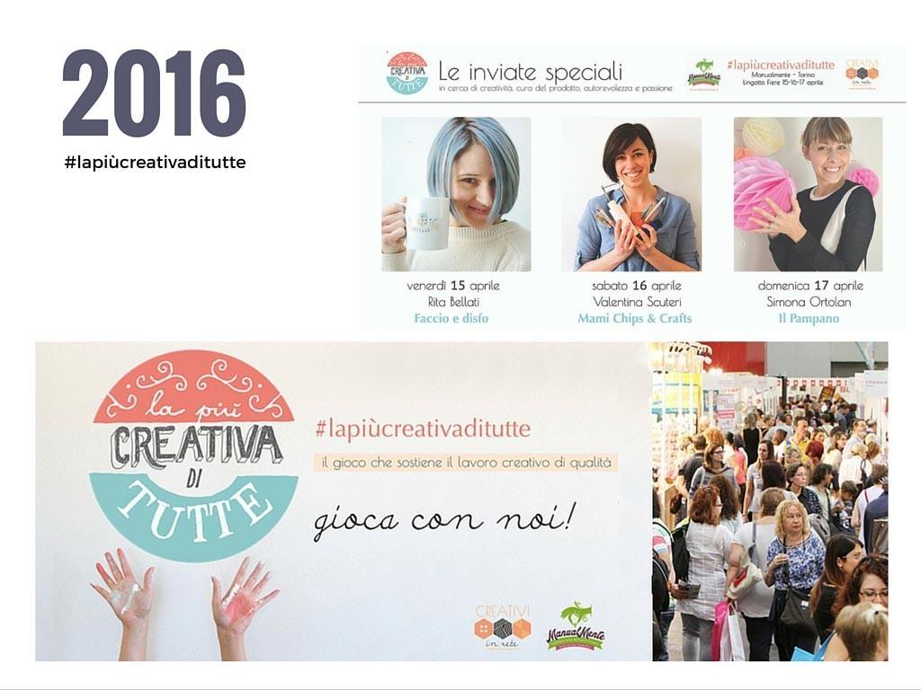 Creativi in rete La più creativa di tutte Manualmente Torino Craft Collective