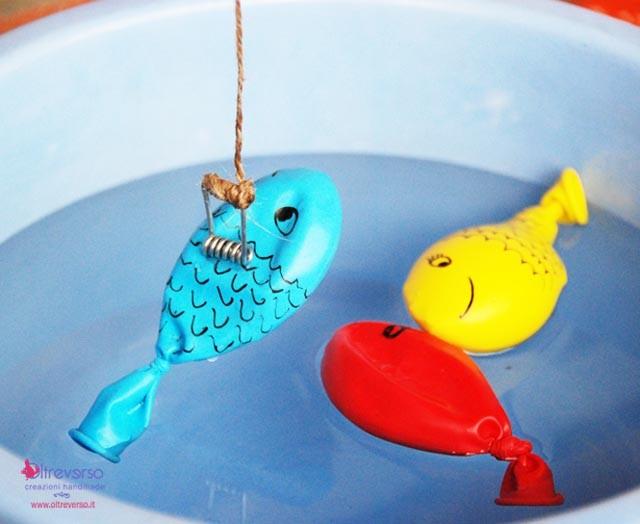 gioco per bambini fai da te pescare i pesci