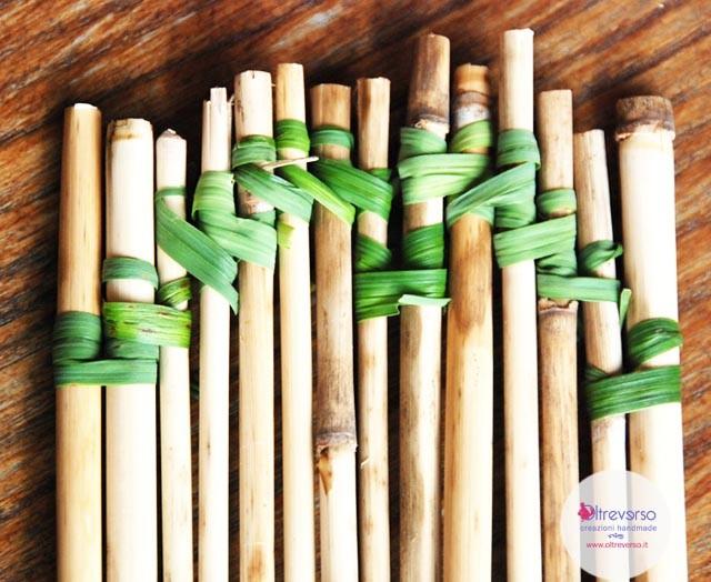 zattera di bambù fai da te lavoretti bambini