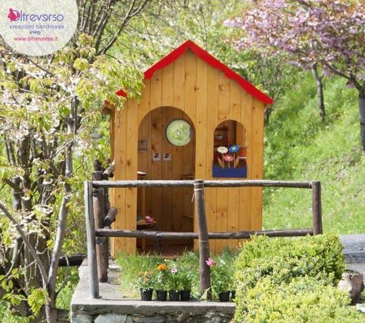 casetta giardino per bambini fai da te