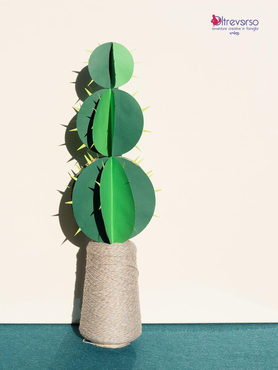 cactus di natale 3d con tutorial senza decorazioni
