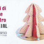 Alberi di Natale in feltro: il tutorial con riciclo cd