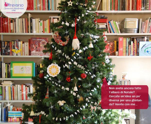 ghirlanda fai da te albero di Natale