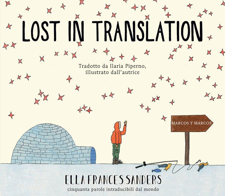 parole nuove intraducibili lost in traslation marcos y marcos copertina