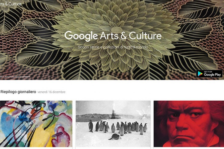 Arte per bambini e scienza con Google Arts & Culture
