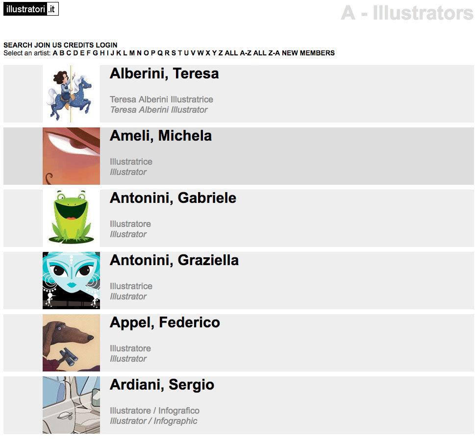 illustratori per bambini siti con illustratori italiani e