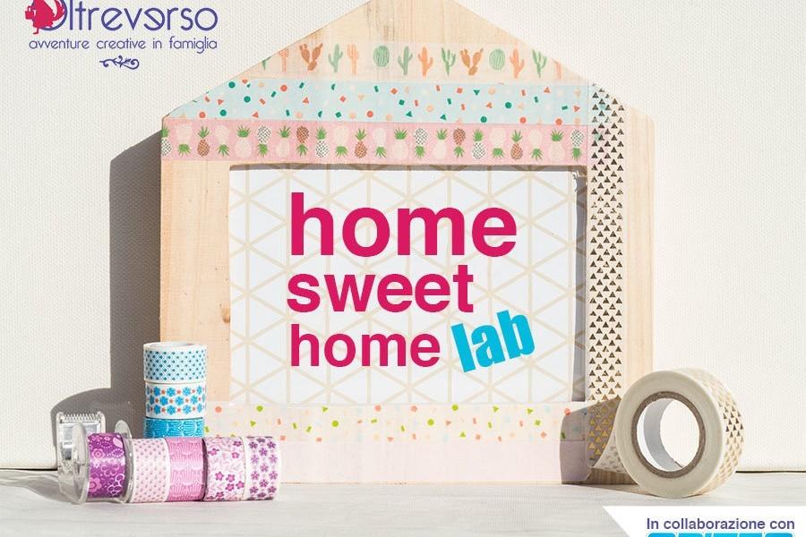 Laboratori creativi per bambini con washi tape e cornice da decorare