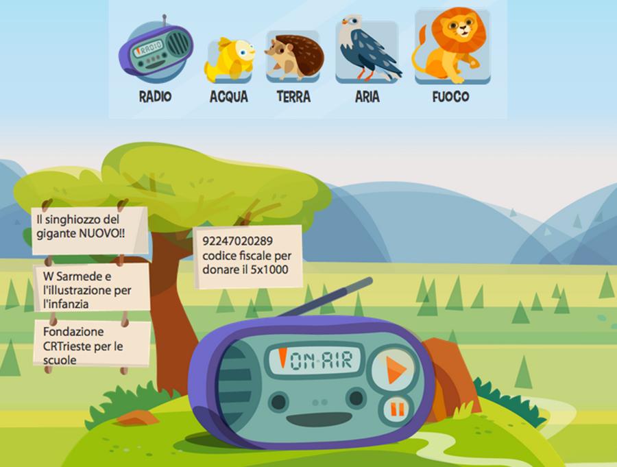Radio magica una radio per bambini e ragazzi