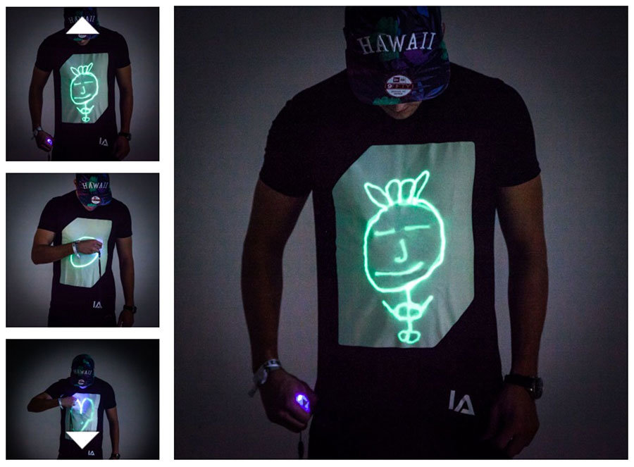 idee regalo per la festa del papà maglietta interattiva
