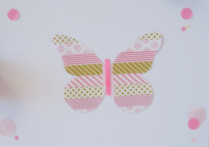 my washi tape farfalla tutorial