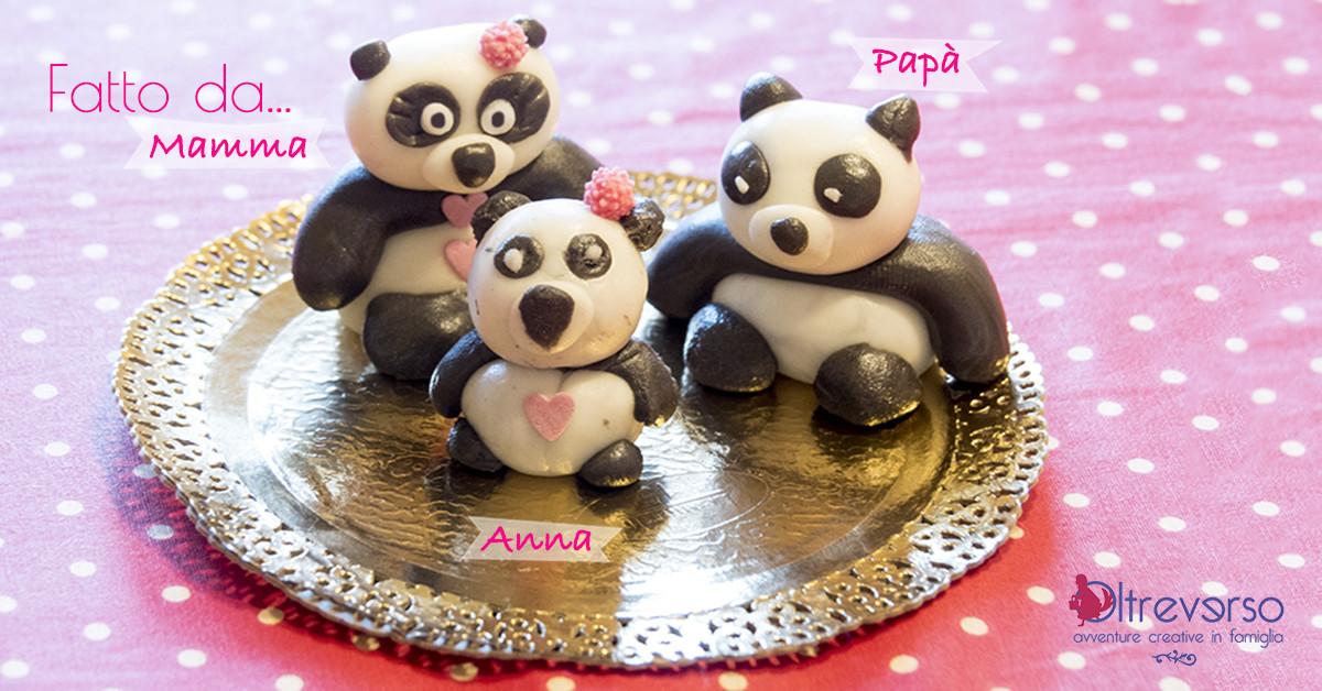 Pasta di zucchero: come modellare un panda