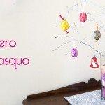 Albero di Pasqua fai da te per le uova decorate a mano