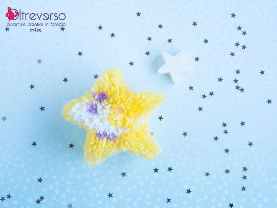 pompon a forma di stella