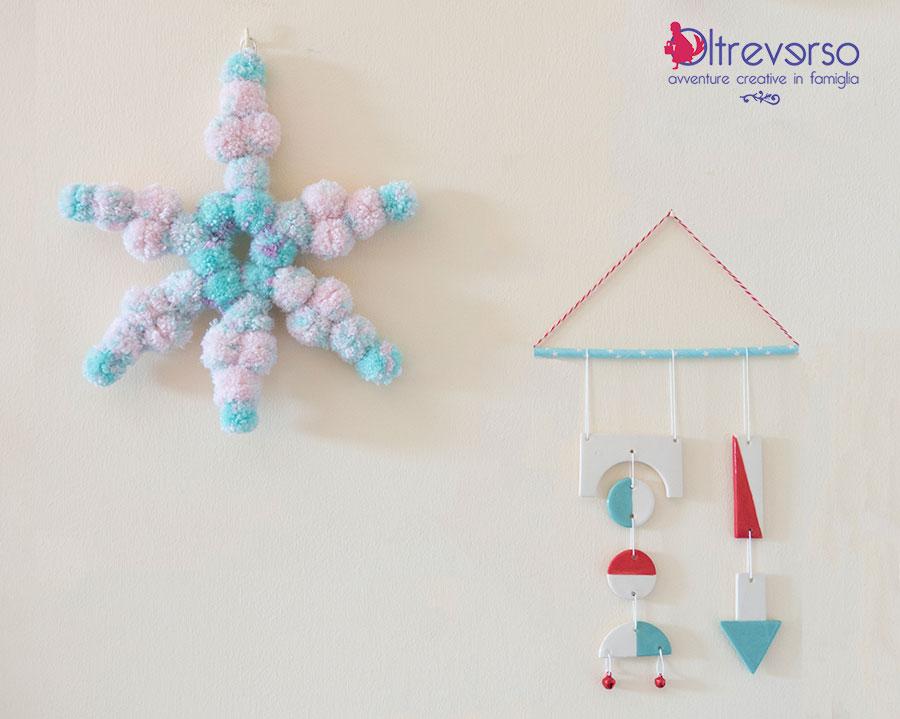 stella pompon cameretta bambine decorazione