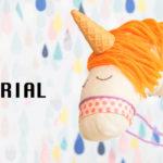 Unicorno giocattolo da un riciclo calzini con tutorial