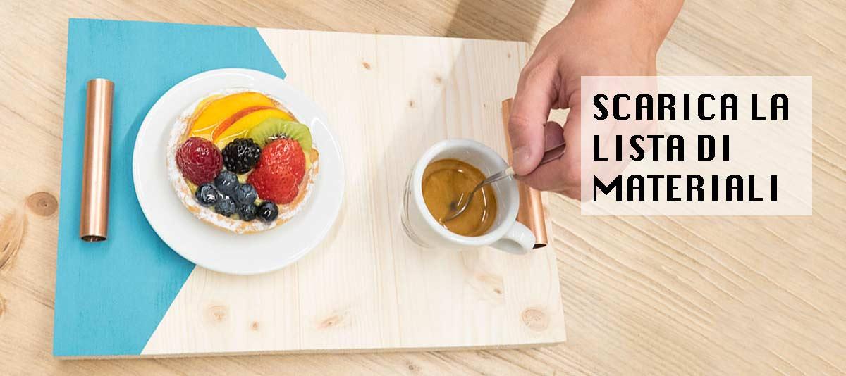 vassoio colazione scarica gratis i materiali