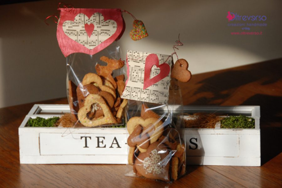 Packaging per i biscotti di San Valentino: come confezionarli