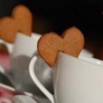 Biscotti speciali per il the di San Valentino