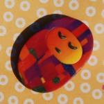 picciotta_arancio_mosaico_creazioni_fimo_oltreverso_spilla
