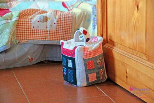 Cucito creativo a macchina: un fermaporta alla Poppy Treffy