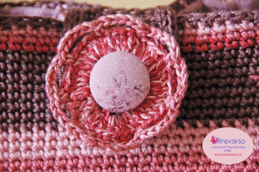 Borsa all'uncinetto a maglia bassa – parte 2
