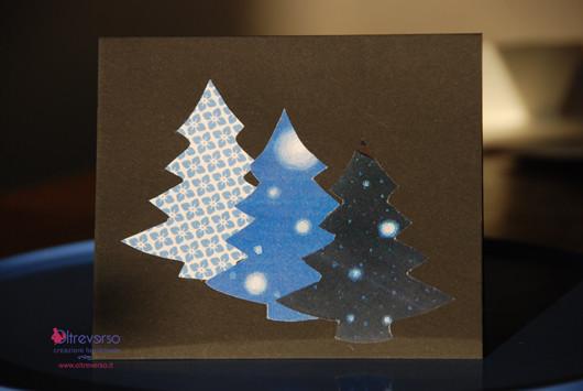 tutorial biglietti di auguri di Natale con le formine dei biscotti