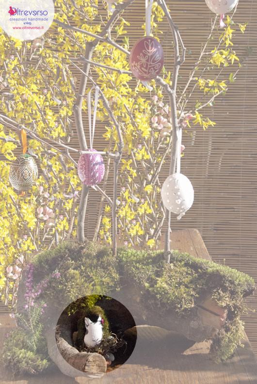 albero-pasqua-uova-legno-faidate-tree-easter-eggs-wooden-rabbit-oltreverso