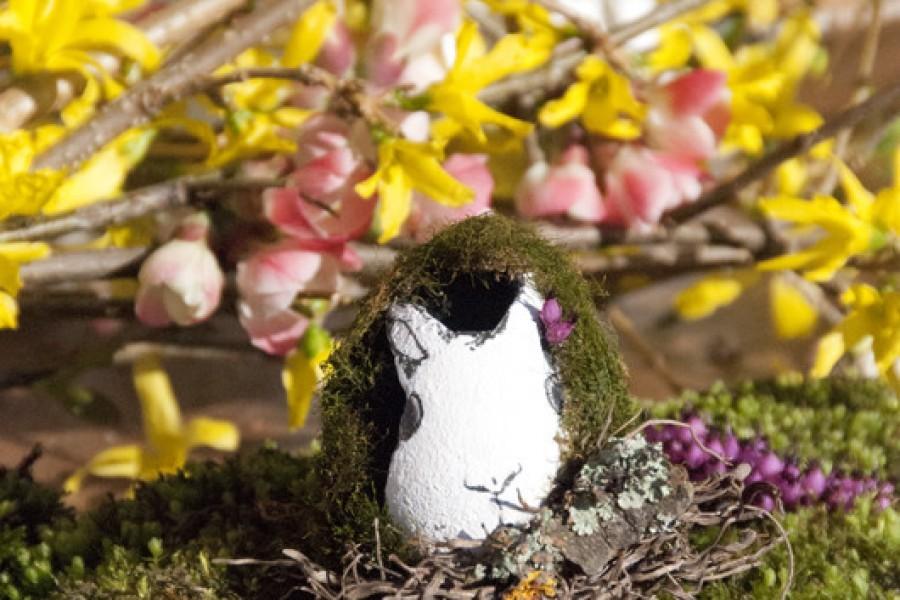 Albero e uova di Pasqua faidate in legno con Dremel e l'amico Bianconiglio