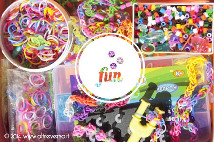 Diari, mappe del tesoro, braccialetti e collane con rainbow loom bands e hama beads