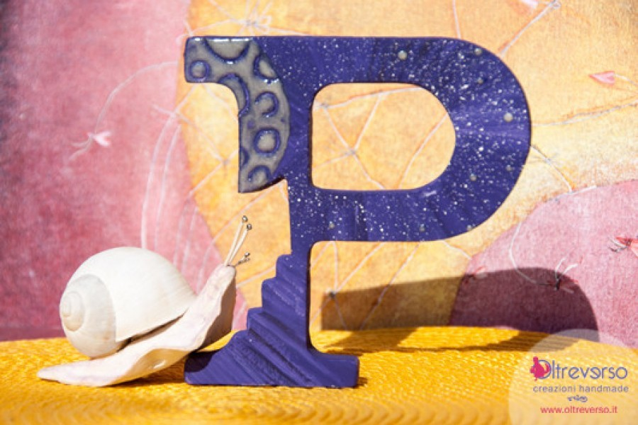 Lettere in legno da decorare: il tutorial