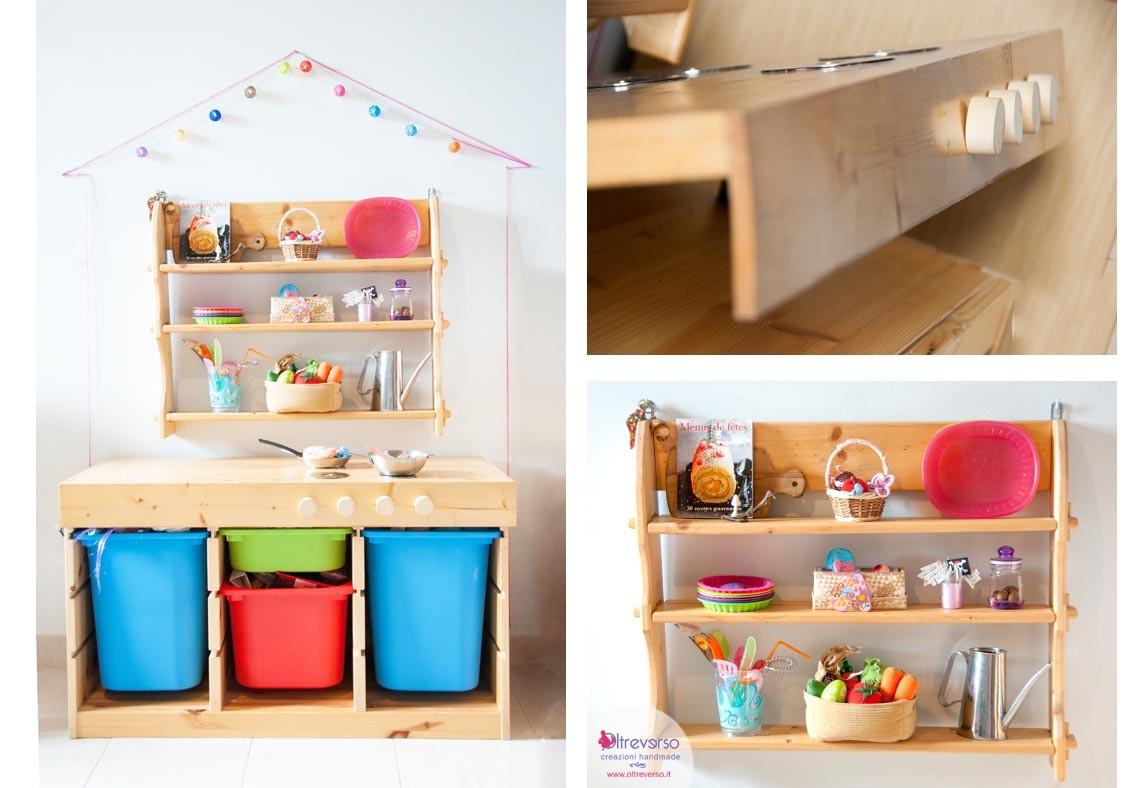 Una cucina fai da te handmade per i bambini tutorial wooden kids kitchen - Oltreverso Avventure ...