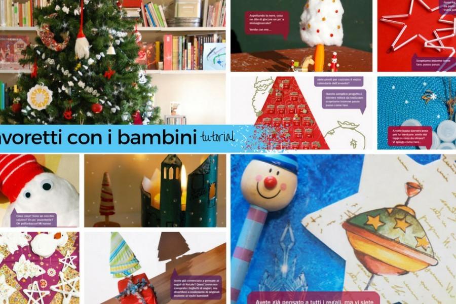 10 lavoretti di Natale per bambini con tutorial scaricabile
