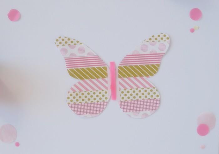 my washi tape farfalla tutorial