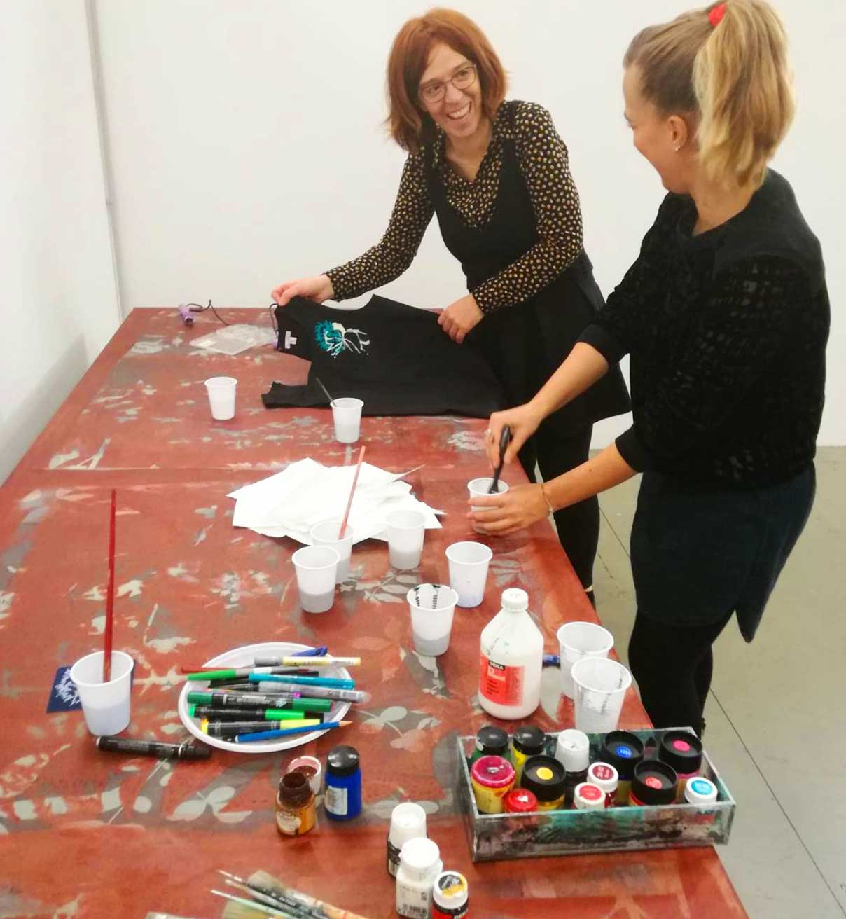 nuala goodman workshop pittura textile design