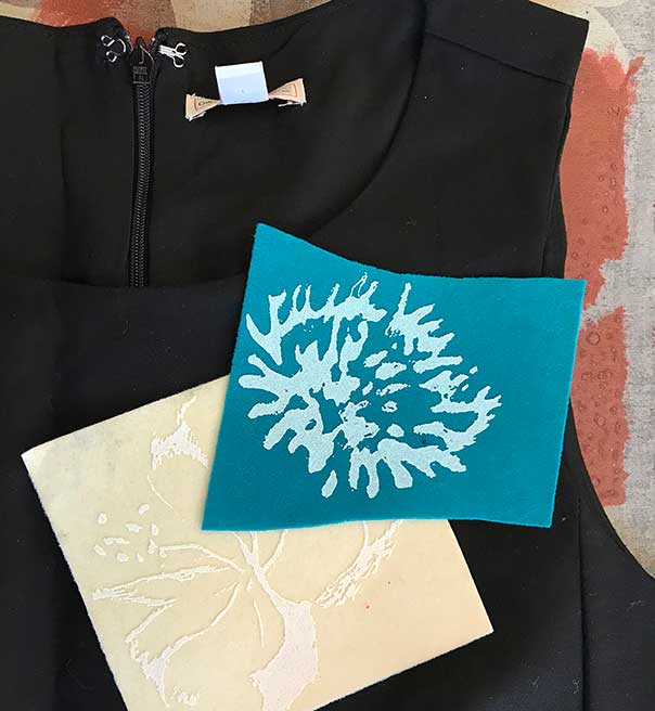 textile design workshop floccaggio nuala goodman