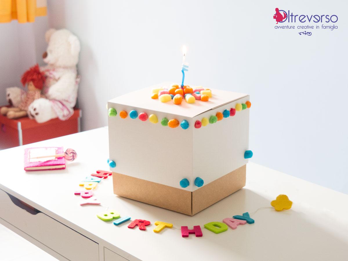 scatole festa compleanno costruzioni mais bambini